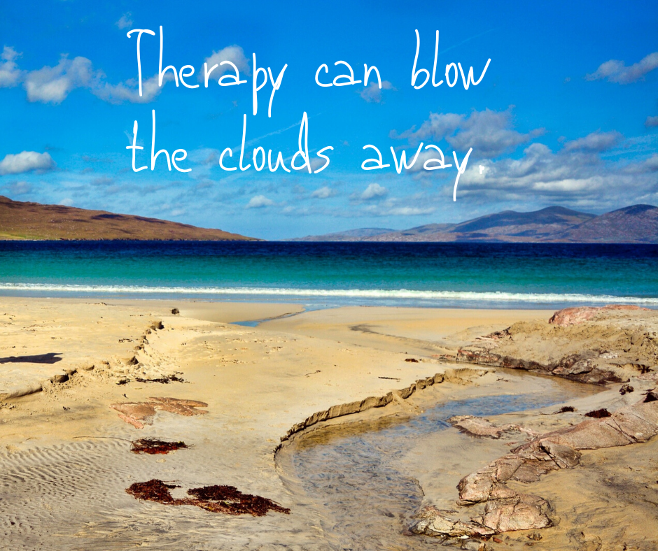 Therapy can blow the clouds away